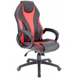 Кресло WING-TM красный/черный