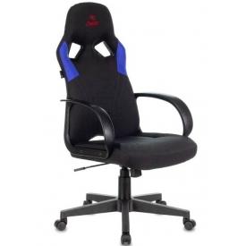 Кресло ZOMBIE RUNNER черный/синий