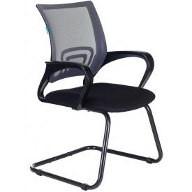 Кресло CH-695N-AV черный/серый