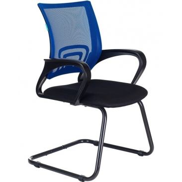 Кресло CH-695N-AV черный/синий