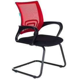 Кресло CH-695N-AV черный/красный