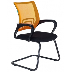 Кресло CH-695N-AV черный/оранжевый