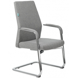 Кресло JONS-LOW-V кашемир серый
