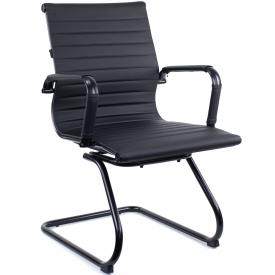 Кресло LEO BLACK CF черный