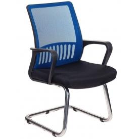 Кресло MC-209 синий/черный