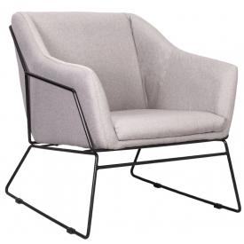 Кресло REMI серо-бежевый