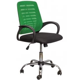 Кресло ARES черный/зеленый