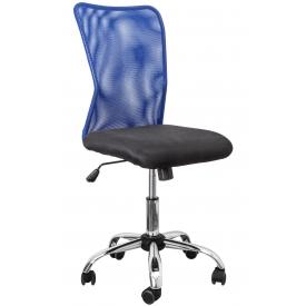 Кресло ARTUR синий/черный