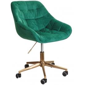 Кресло BALI зеленый/золото