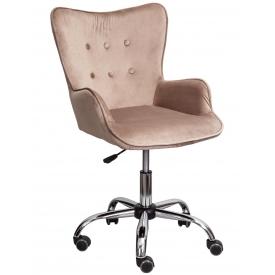 Кресло BELLA velvet бежевый