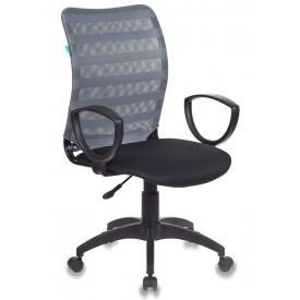 Кресло CH-599AXSN/32G серый/черный