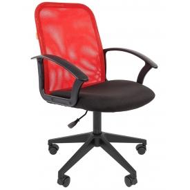 Кресло CH-615 черный/красный