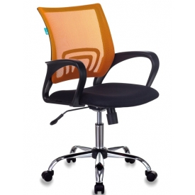 Кресло CH-695NSL оранжевый/черный