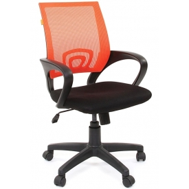 Кресло CH-696 черный/оранжевый