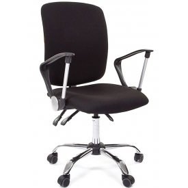 Кресло CH-9801 Chrom черный
