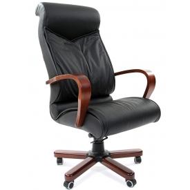 Кресло CH-420 WD черный