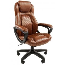 Кресло CH-432 коричневый