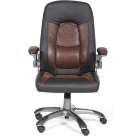 Кресло CH-439 коричневый/черный