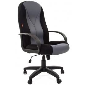 Кресло CH-785 TW серый/черный