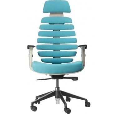 Кресло Ergo Grey бирюзовый