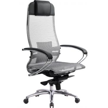 Кресло Samurai S-1 серый