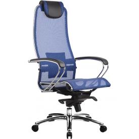 Кресло Samurai S-1 синий