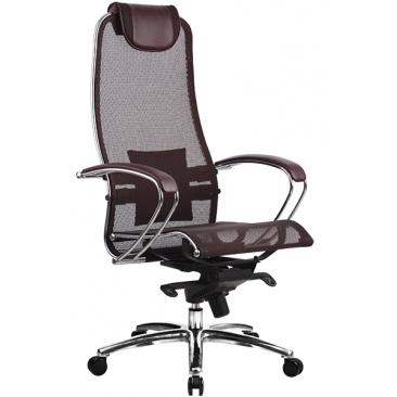 Кресло Samurai S-1 бордовый