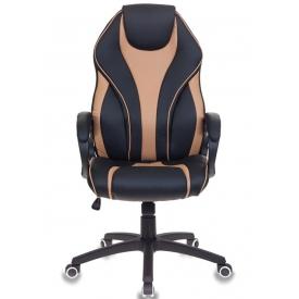 Кресло T-702 черный/бежевый
