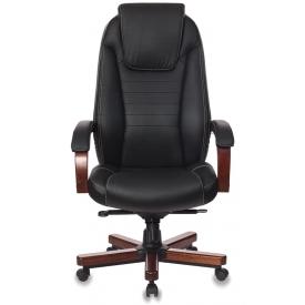 Кресло T-9923/Walnut черный