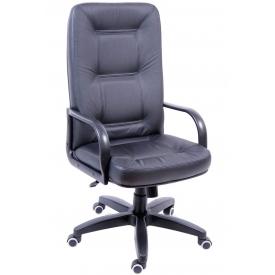 Кресло Сенатор черная кожа