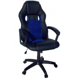 Кресло T-688 синий/черный