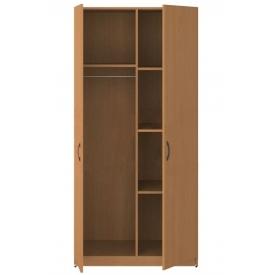 Шкаф 2-х дверный комбинированный (ВхШхГ)1800х860х520