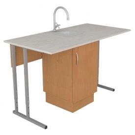 Стол лабораторный для химии регулируемый группа: 4-6